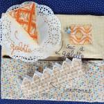 Kit galette des rois (sac + couronne + galette)
