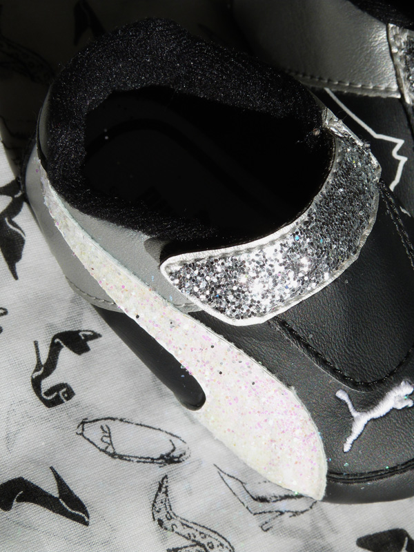 chaussures bébé diy