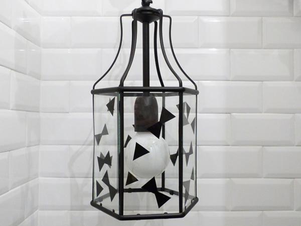 lustre venilia géometrique