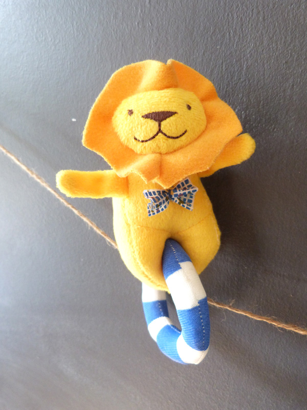hochet-lion