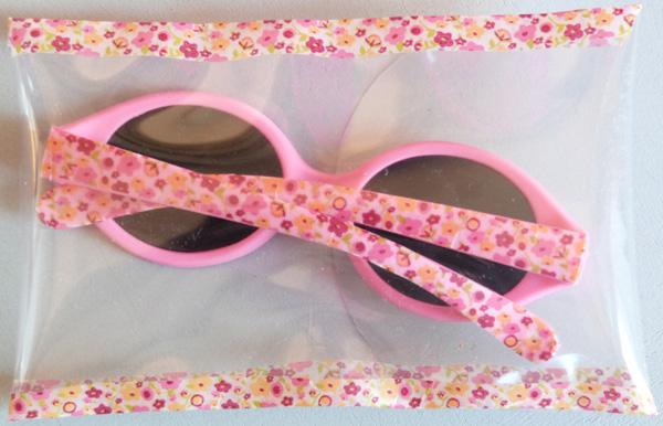montures lunettes de soleil recouvertes de masking tape