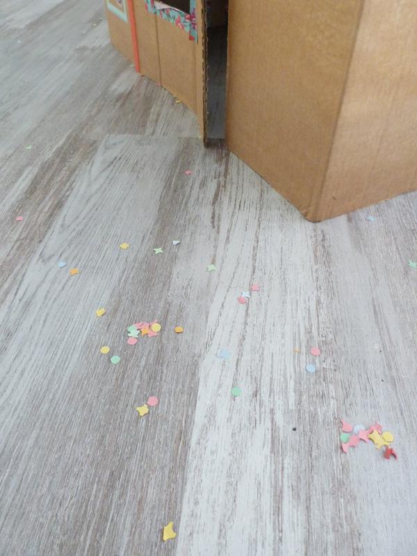 confettis maison