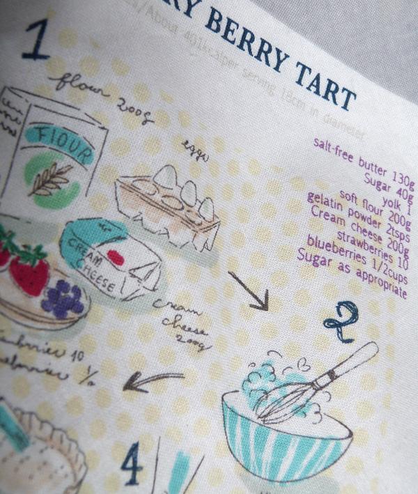 tissu recette cuisine