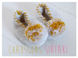chaussons evzones
