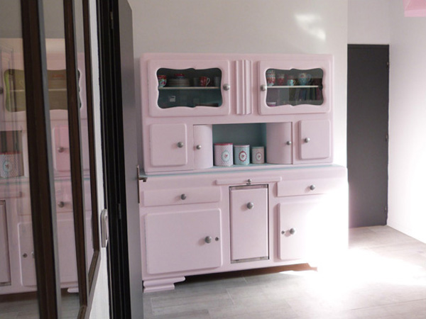 Le buffet de mamie couture turbulences - Renovation meuble vintage ...