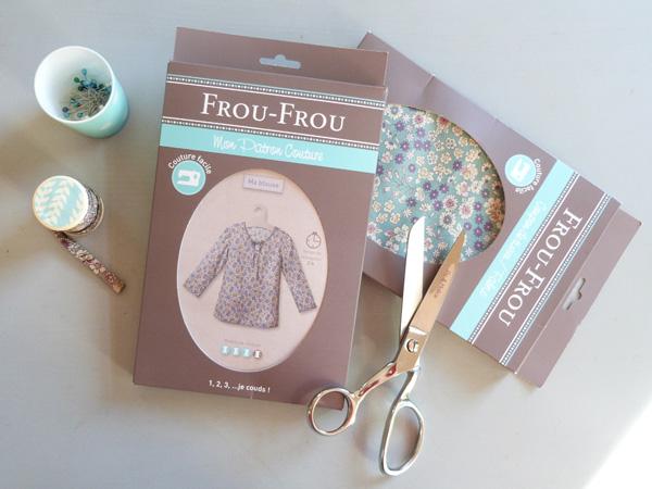 kit blouse Frou-Frou