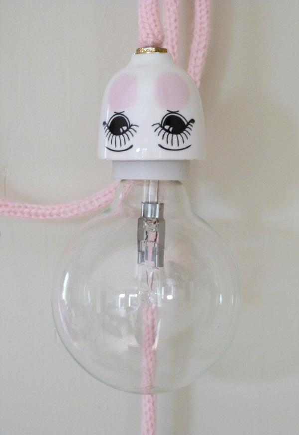 lampe coquetier