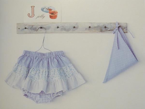 jupe à volants basiques pour bébé