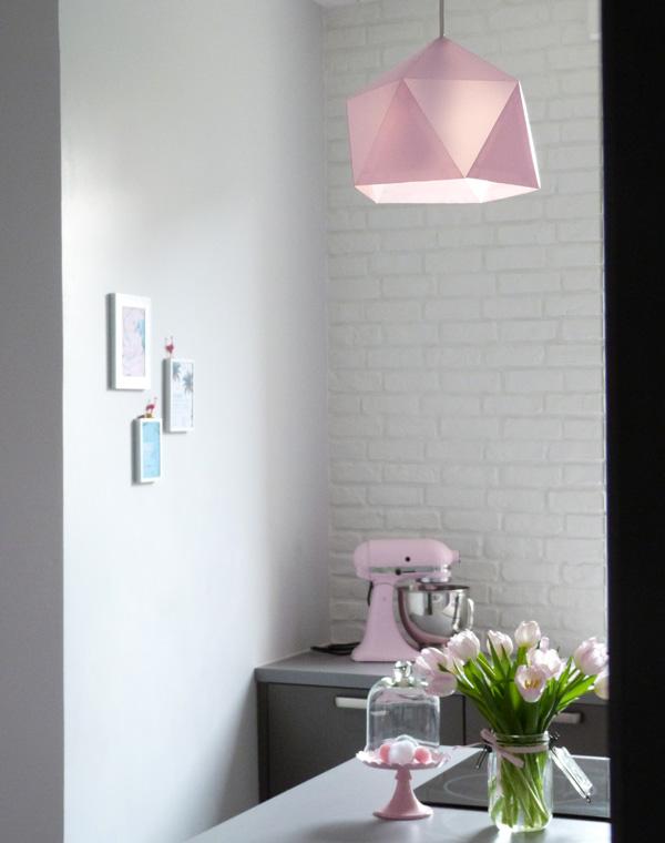 lampe origami cuisine