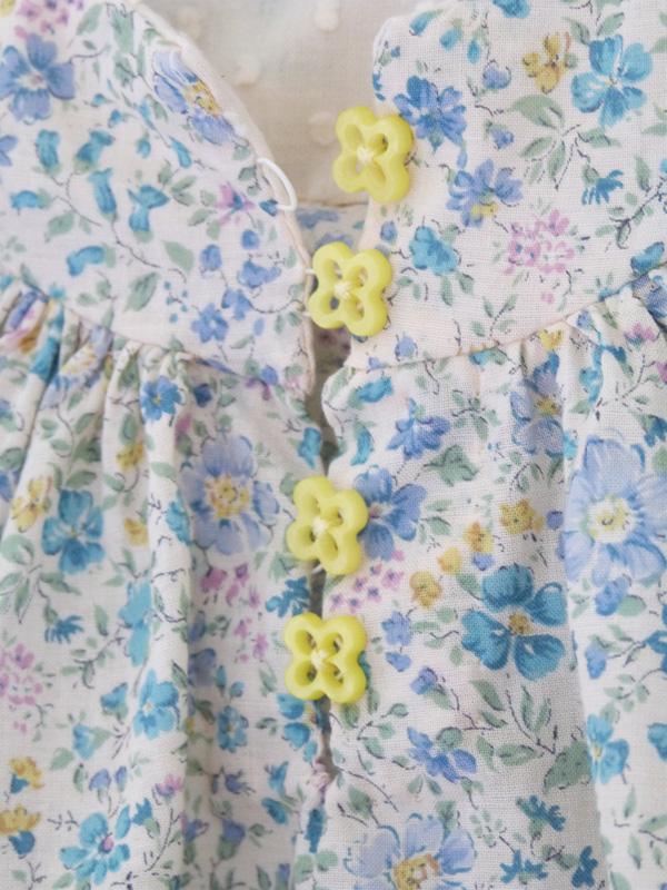 boutonnière blouse fille