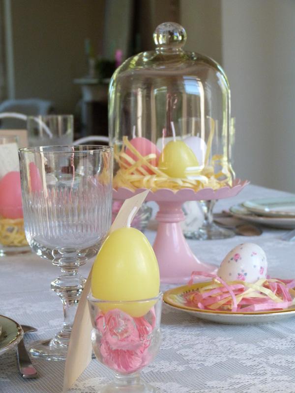 déco table de Pâques