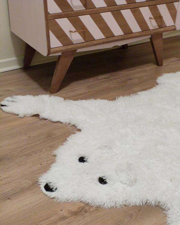 tapis ours chambre enfant