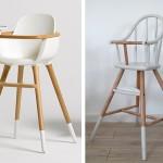 La chaise-haute façon Ovo/Micuna