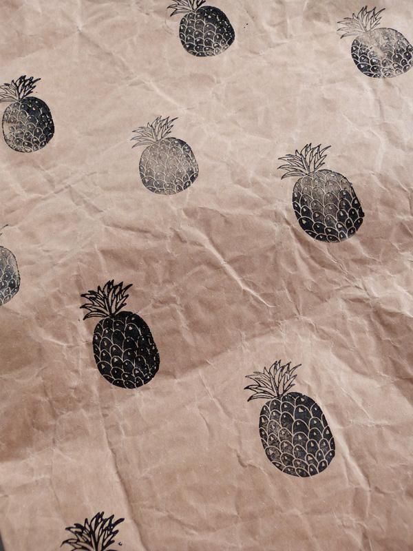 sac tampon ananas