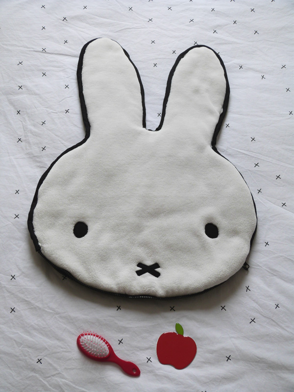 coussin sac miffy