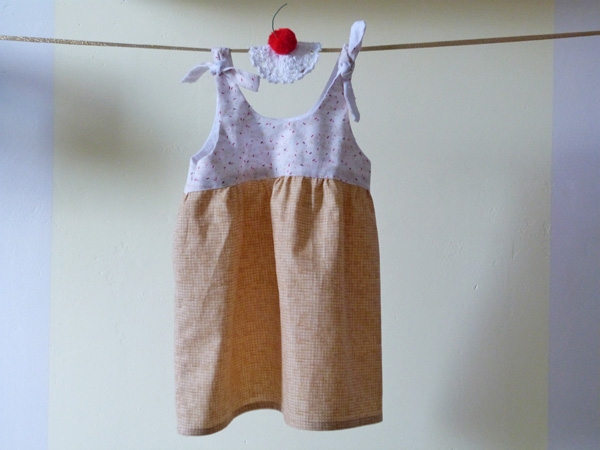 baby ice cream summer dress