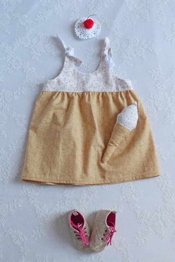 déguisement glace bébé