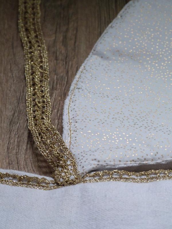 détail feuille tapis pomme