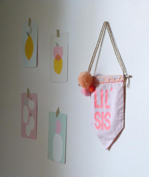 bannière chambre bébé