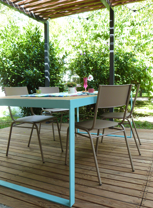 Table De Terrasse En Bois Gallery Of Que Luon Envisage De