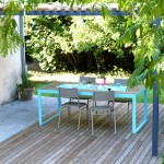 L'été au jardin { table, terrasse et pergola homemade }