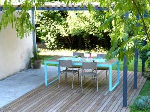 terrasse et pergola design