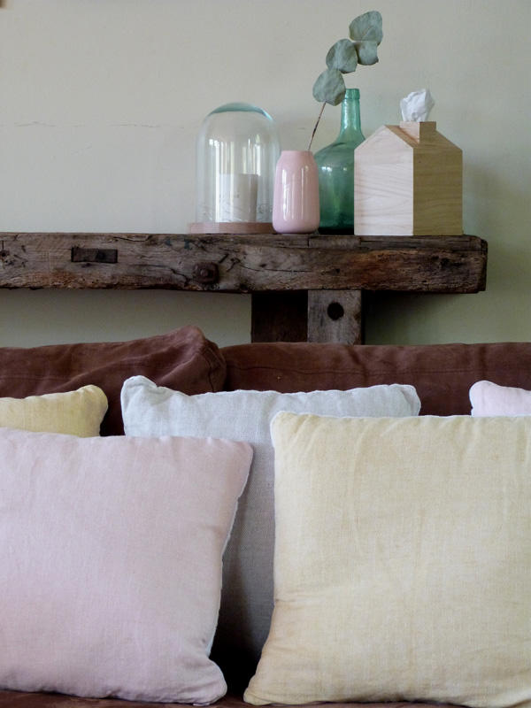 coussin DIY