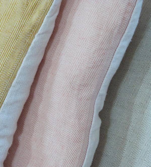 coussins homemade