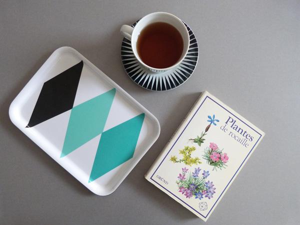 teinture au thé