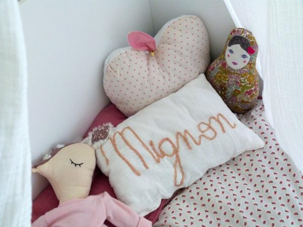 linge de lit maison