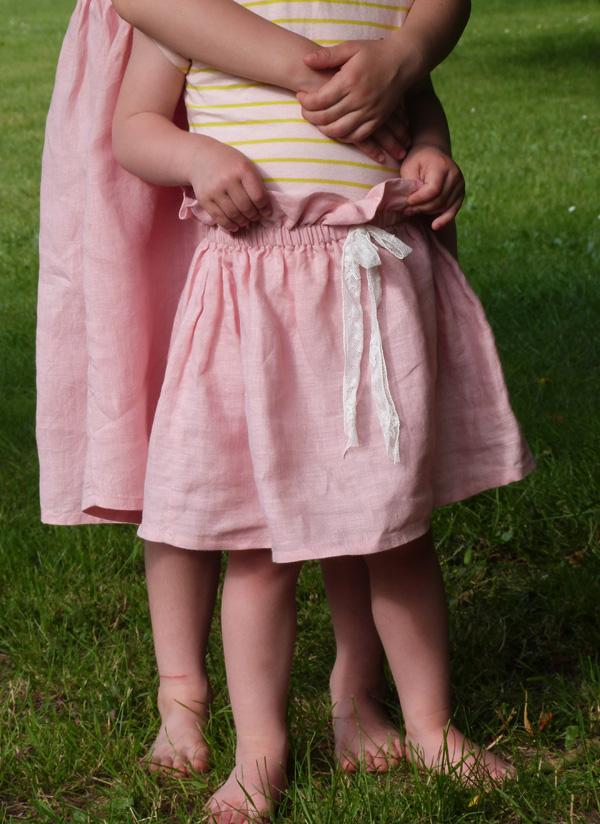 robe jupe lin