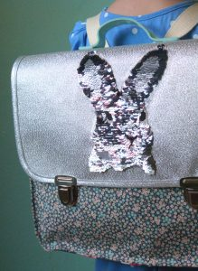 cartable sequins recup