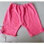 Pantalon bébé rose bonbon