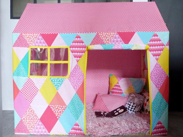 Maisonnette en tissu pour enfant
