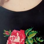 Mignonne allons voir si la rose… {sweat canevas}