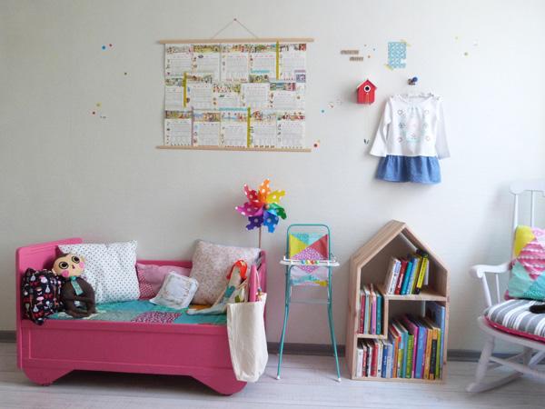 chambre bébé confetti
