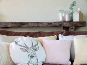 napkin cushion DIY