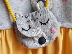 sac tete d ours fillette
