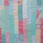 Le patchwork de la vie ! {plaid vintage+fluo}